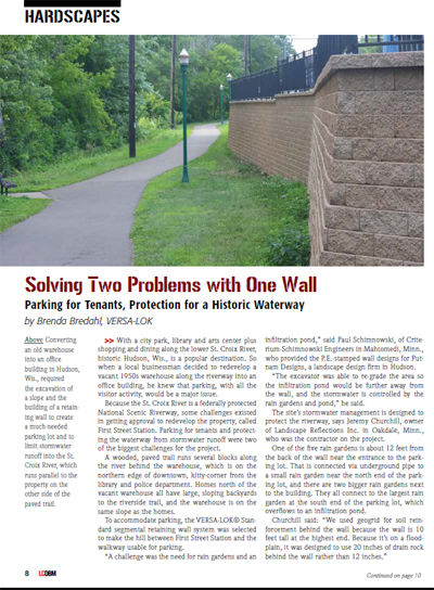 Landscape Contractor Mag Article
